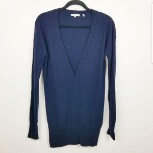 Vince 100% cashmere deep v neck sweater